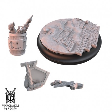 Red Oak Large Base Topper Set & Scatter Terrain
