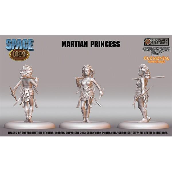 Space 1889 Miniatur Marsianische Prinzessin