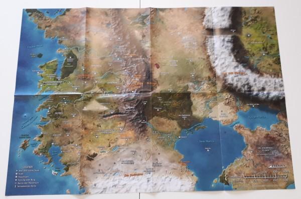Numenera Weltkarte