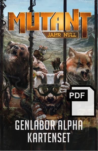 Mutant: Genlabor Alpha - Kartenset - PDF