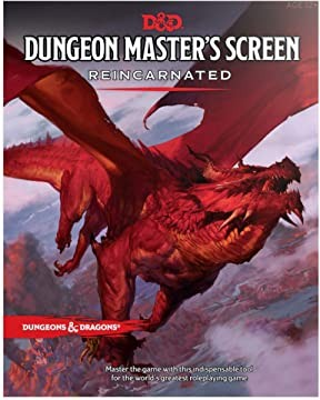 D&D5 - Dungeon Master's Screen Reincarnated