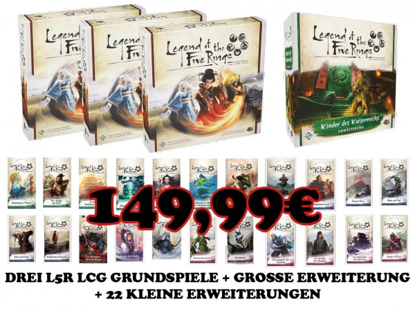 Legend of the Five Rings - LCG Mega-Paket