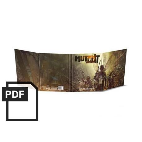 Mutant: Jahr Null – Spielleiterschirm - PDF