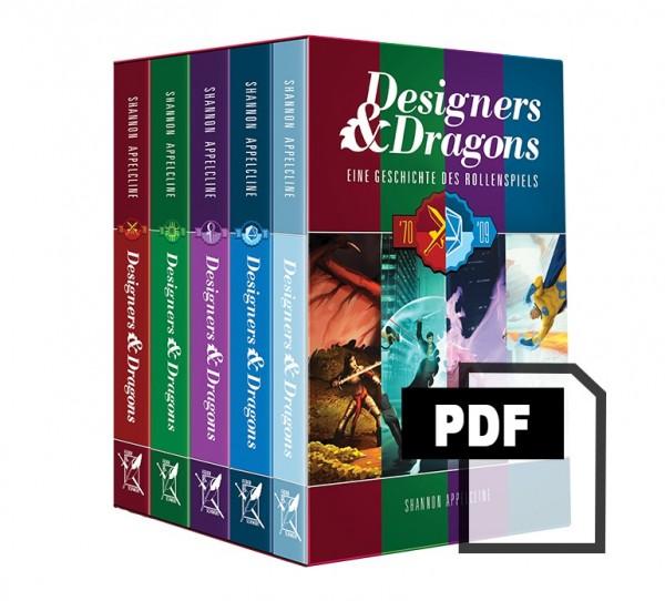 Designers & Dragons: Eine Geschichte des Rollenspiels von Shannon Appelcline - PDF