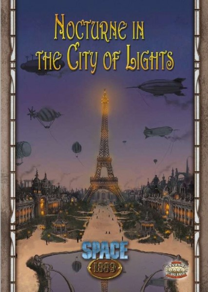 Space: 1889 - Nocturne in the City of Lights (Savage Worlds Edition)