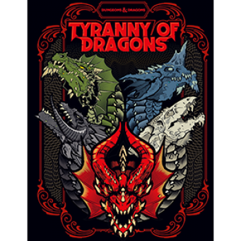 D&D 5 - Tyranny of Dragons Limited Edition - englisch