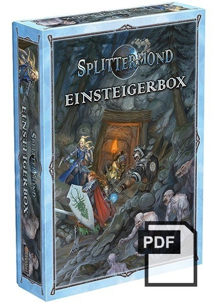 Splittermond Einsteigerbox Abenteuer und Hintergründe – PDF