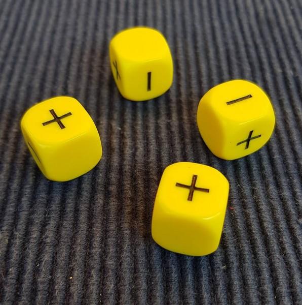 Fate-Würfelset - gelb