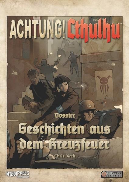 Achtung! Cthulhu – Spielleiterschirm + Geschichten aus dem Kreuzfeuer