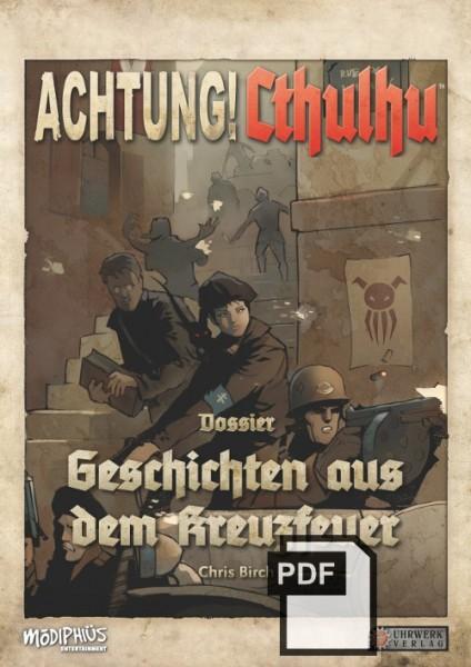 Achtung! Cthulhu – Spielleiterschirm + Geschichten aus dem Kreuzfeuer PDF