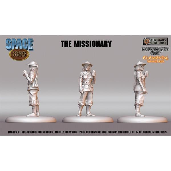 Space 1889 Miniatur Missionarin