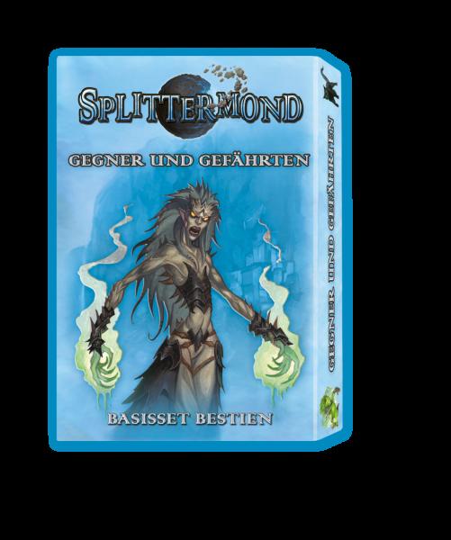 Splittermond Kartenset: Gegner und Gefährten – Basisset Bestien