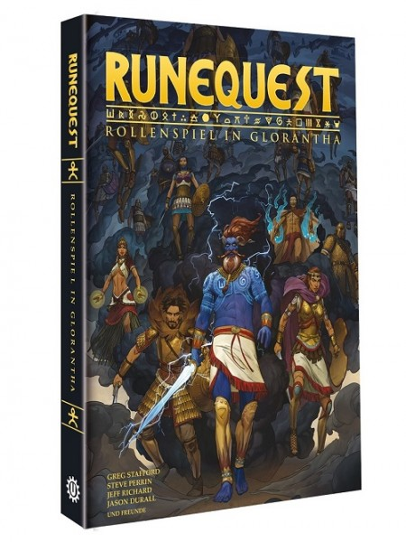 RuneQuest - Rollenspiel in Glorantha