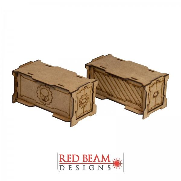 Complex Red - Storage Crate Set