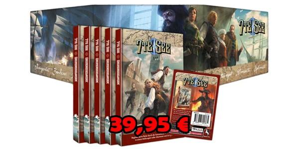 7te See Spielgruppen-Paket (5 Regelwerke plus exklusivem Hardcover-Sichtschirm)