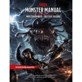 D&D 5 - Monster Manual - Monsterhandbuch - deutsch