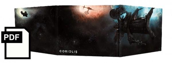 Coriolis Spielleiterschirm - PDF