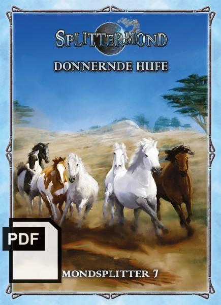 Donnernde Hufe - Mondsplitter 7 - PDF