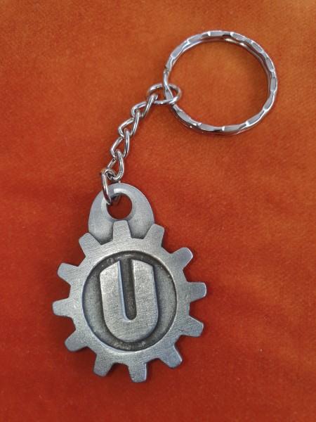 Uhrwerk-Logo Schlüsselanhänger
