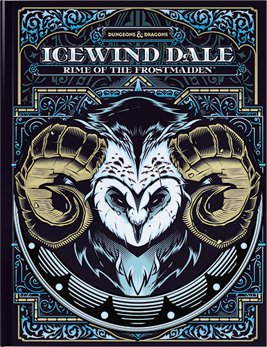 D&D5 - Icewind Dale - Rime of the Frostmaiden - Alternate Cover