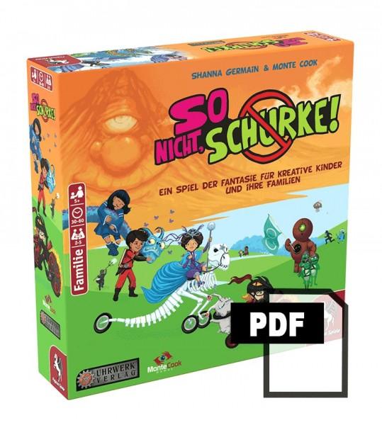 So nicht, Schurke! - PDF