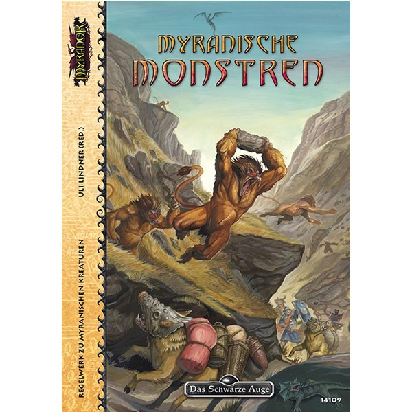 Myranor - Myranische Monstren