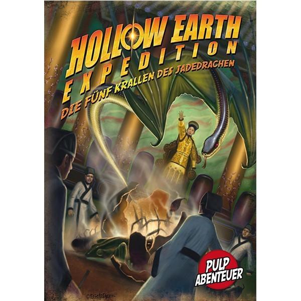 Die fünf Krallen des Jadedrachen - Hollow Earth Expedition