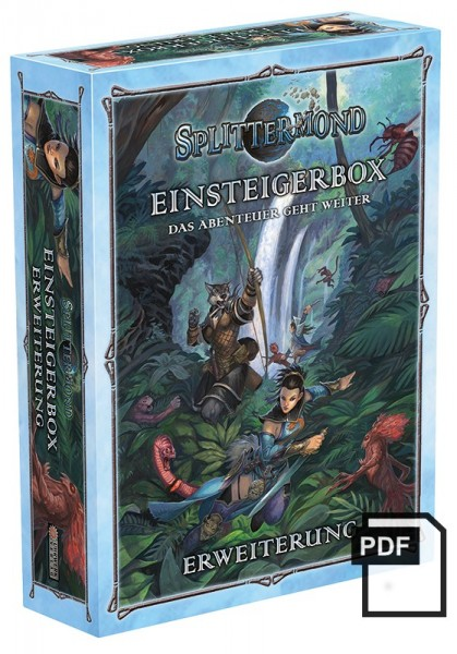 Splittermond Einsteigerbox-Erweiterung Komplett – PDF
