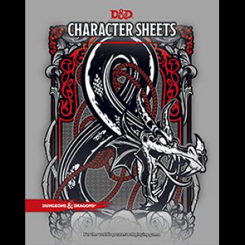D&D 5 - Character Sheets - englisch