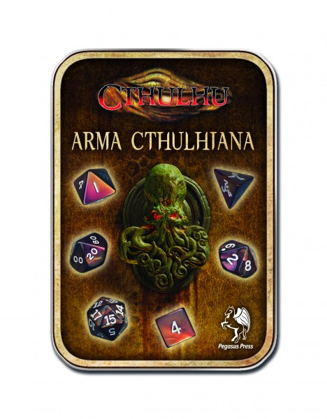Würfelset: Cthulhu (neue Version)