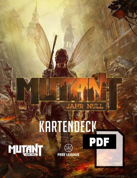 Mutant: Jahr Null – Kartendeck - PDF