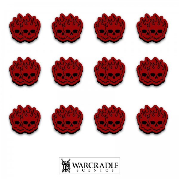 Knightspire Double Wound Tokens