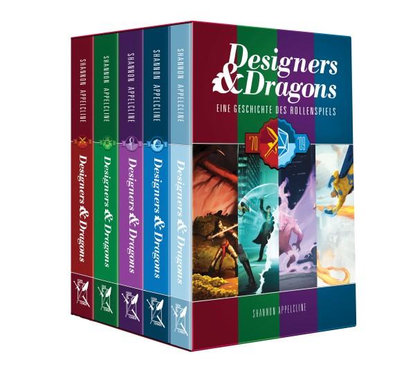 Designers & Dragons: Eine Geschichte des Rollenspiels von Shannon Appelcline