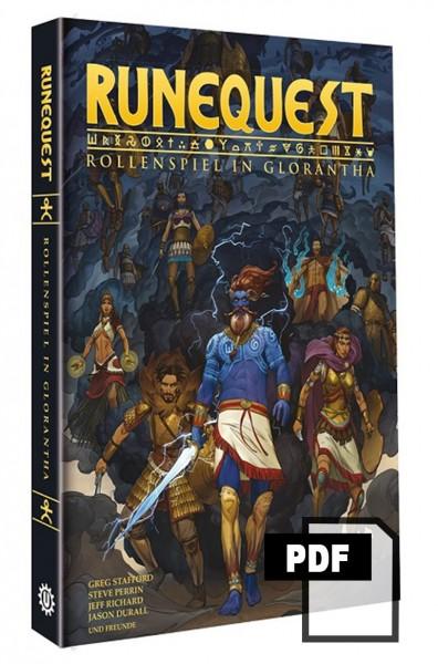 RuneQuest - Rollenspiel in Glorantha PDF
