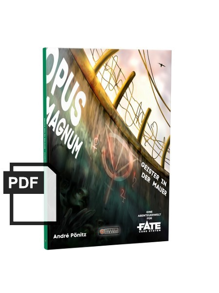 Opus Magnum – Eine Fate-Abenteuerwelt -PDF