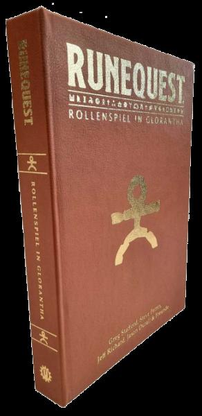 RuneQuest - Rollenspiel in Glorantha - limitierte Kunstlederausgabe