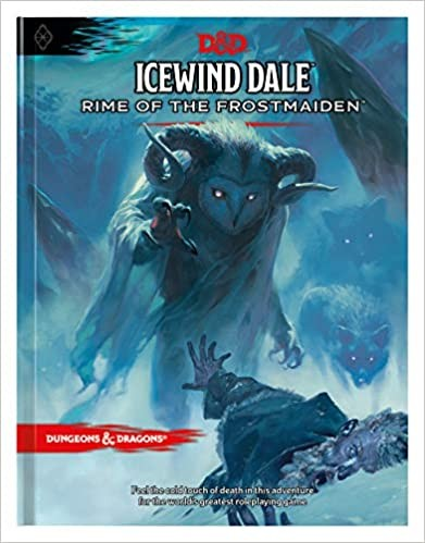 D&D5 - Icewind Dale - Rime of the Frostmaiden